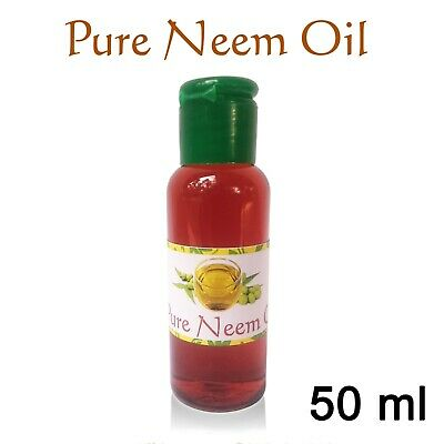 Neem Oil - 50Ml 100% Pure Natural , Coldpressed