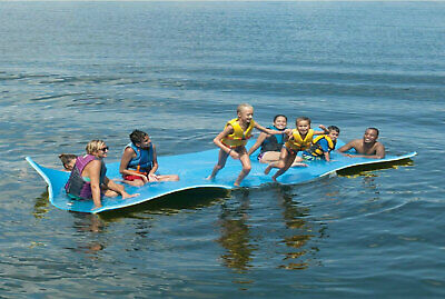 Layer Floating Oasis Water Pad 9 x 6 Water Sports Mat Float Island Utility Mats