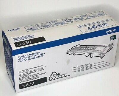 Genuine OEM Brother TN630 TN-630 Black Toner Cartridge New Sealed