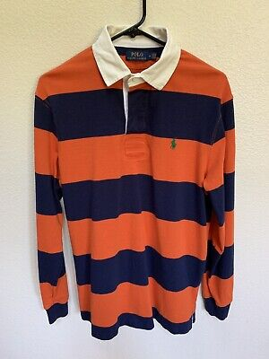Polo By Ralph Lauren Striped Long Sleeve Rugby | Size M | NWOT |