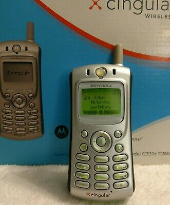 *Very* affordable Motorola C331t-w/box & Charger~Sharp Phone~