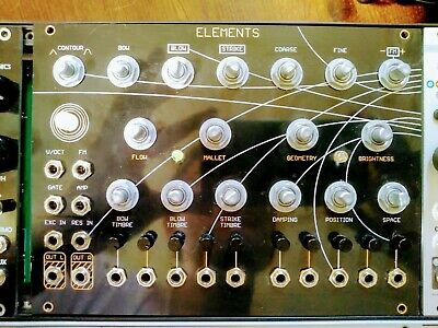 Mutable Instruments Elements modal synthesizer Clone