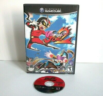 Viewtiful Joe 2 (Nintendo GameCube) Game & Case Black Label Good Disc Capcom