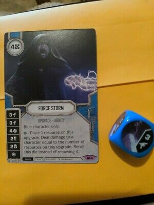 Star Wars Destiny Convergence ~ Force Storm #14 w// Die
