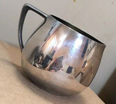 Vintage WM A ROGERS Silverplate Mini Coffee Cream Pitcher (Pre-Oneida?)