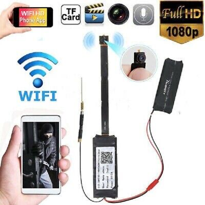 HD 1080P Wireless Wifi Mini Spy Hidden Camera Digital Video Motion Activated Cam