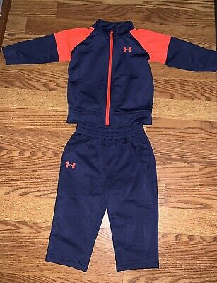 Baby boy Under Armour 6/9 months 2 piece outfit