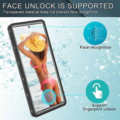 For Samsung Galaxy Note 10 Plus Waterproof Case Shockproof Full Protector Cover