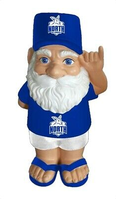 North Melbourne Kangaroos AFL Hawaiian Style Garden Gnome