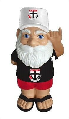 St Kilda Saints AFL Hawaiian Style Garden Gnome