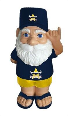 North Queensland Cowboys NRL Hawaiian Style Garden Gnome
