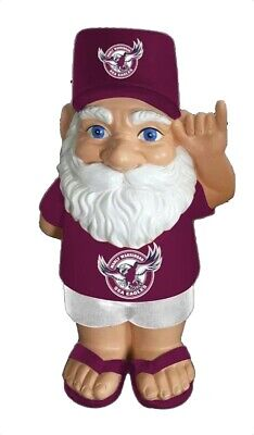 Manly Sea Eagles NRL Hawaiian Style Garden Gnome