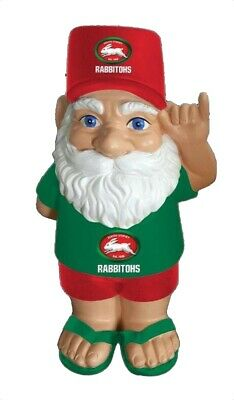 South Sydney Rabbitohs NRL Hawaiian Style Garden Gnome