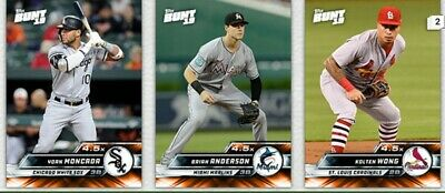 2019 Topps Bunt Orange Base 4.5x Boost LOT *DIGITAL* WONG MONCADA ANDERSON
