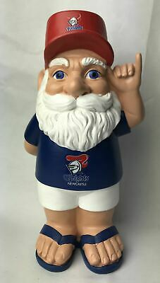 Newcastle Knights NRL Hawaiian Style Garden Gnome