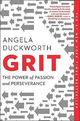 Grit: The Power of Passion and Perseverance by Angela Duckworth (2018, Digitall)