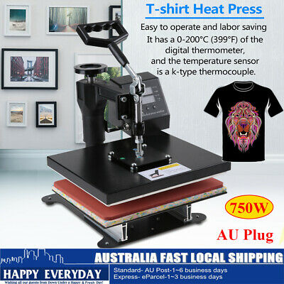 "Brand New 12"" * 10"" High Pressure Digital Heat Press Machine/T-shirt Transfer AU"