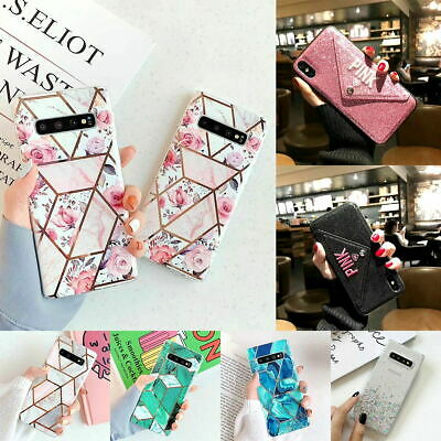 Galaxy NOTE 10 Plus 5G S10 Plus S9 S8 Plus Marble Silicone TPU Soft Case Cover