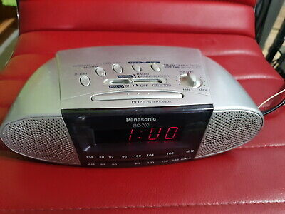 Panasonic RC- 700 AM/FM Digital Alarm Clock Radio