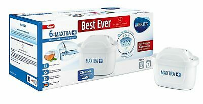 BRITA Maxtra+Plus Water Filter Jug Replacement Cartridges Refills 6 Packs