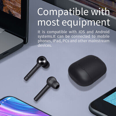 Bluedio Hi Wireless Bluetooth With Charger Built-in Microphone Stereo Earphones