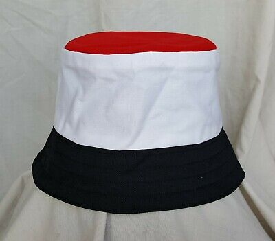 New Sheffield United style bucket hat. 1990's football casuals. Size M. Retro.