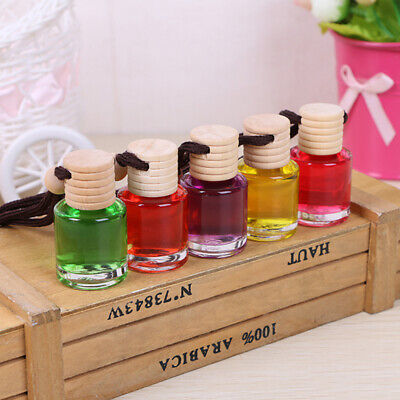 Interior Decoration Oil Bottle Ornaments  Car Perfume Pendant  Air Freshener