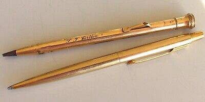 A vintage WAHL Eversharp pencil plus a Parker ball pen.