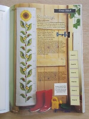 Mary Hickmott's New Stitches #29~Cross Stitch & Embroidery Patterns~1995