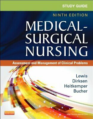 Study Guide for Medical Surgical Nursing 9th Edition Lewis E-B00K [PDF]