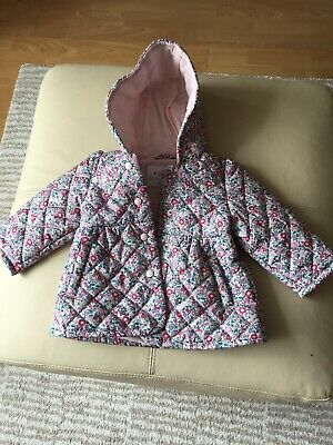 M and S Baby 3-6 Months Lightly Padded Coat Jacket