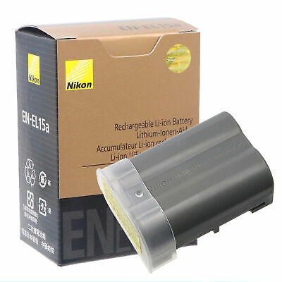 Genuine Nikon EN-EL15A Battery for D850 D7500 D750 D810 D7200 D7000 D7100 camera