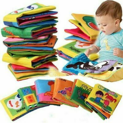 Hot Intelligence development Cloth Bed Cognize Book Educational Toy Baby Gift