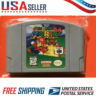 Mario 64 - Video Game Cartridge For Nintendo N64 Console
