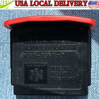 For Nintendo* 64 Official MEMORY EXPANSION PAK Pack NUS-007 n64 japan used game