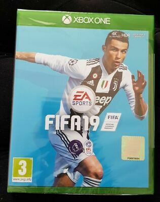 Brand New Xbox One Ea Sports Fifa 19 Video Game Rrp £40