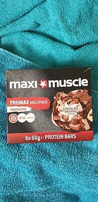 Maximuscle protein bars