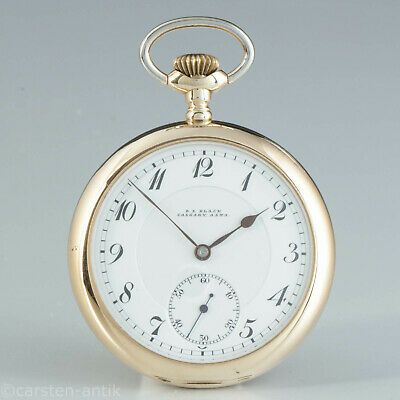 Wittenauer & Co, Geneve very fine 14k Gold precision pocket watch quality Extra