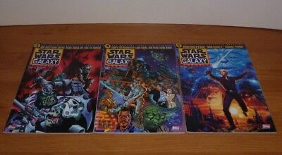 The official Lucasfilm Star Wars Galaxy Magazine , #3 + #4 + #5 , (1995) , topps