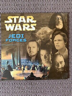 Star Wars Official Calendar 2001 Jedi Forces Collectable