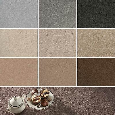 Cheap Stain Resistant Carpet Budget Saxony Actionback Hardwearing Lounge Bedroom