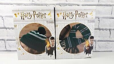 Harry Potter SLYTHERIN Knit Your Own Hat And Scarf Sets BRAND NEW