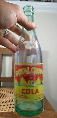 Vintage Acl Unusual Color Royal Crown (Nehi) Birmingham Alabama Bottle Copy1936