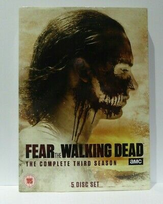 Fear The Walking Dead Season 3 - Dvd Cardboard Slipcover Only No Discs