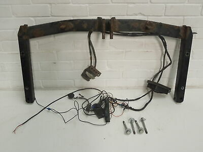 Bosal Audi A4 B6 Cabriolet Tow Bar And Wiring