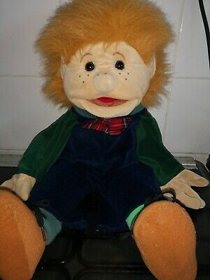 FolkTails Folkmanis Hand Puppet Ventriloquist Plush Doll Furry Folk Puppets