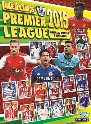 3-61 2015 Topps Merlin Premier League official collectors stickers Arsenal