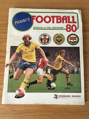Panini Football 80 Sticker Album - COMPLETE -  All Stickers & Badges