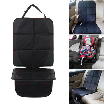 Car Seat Protector Thickest Padding Waterproof w/ Storage Pockets for Child Kids