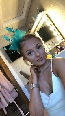 Wedding Fascinator Headband Aliceband Ladies Day Races Royal Ascot